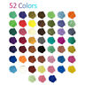 52 Colors Set Mica Pigment Powder Perfect for Soap Cosmetics Resin Colorant Dye