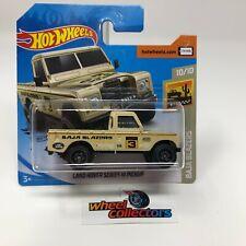 SHORT CARD * Land Rover Series III * Tan * 2020 Hot Wheels Case J * HB21