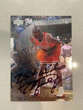 Michael Jordan Autograph Signed Basketball Card