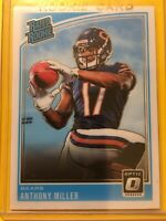 🔥🔥2018 PANINI DONRUSS OPTIC ANTHONY MILLER RATED ROOKIE RC #164 Bears