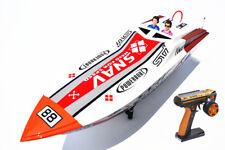 DT G26A2 Challenger Fiber Glass 26CC Engine Gas RC Race Speed Boat ARTR W/ Servo