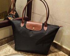NEW Longchamp Le Pliage Tote Bag Large Nylon Handbag Black L a8af6d0fa2c8e