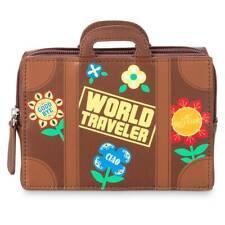 Disney it's a Small World Luggage Zipper Case, New