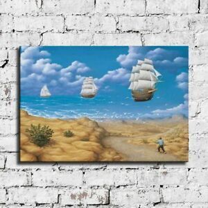 """36x24"""" Rob Gonsalves """"In Search of Sea"""" HD print on canvas large size picture"""