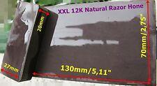 Pietra Naturale XXL 12K Grit 130X70 Barber Razor Hone Sharpening Stone Whetstone