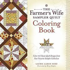 The Farmer's Wife Sampler Quilt Coloring Book: Color 70 Classic Quilt Designs fr