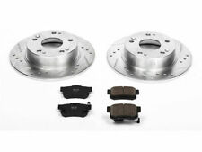 For 2004-2008 Acura TSX Brake Pad and Rotor Kit Rear Power Stop 75161HN 2005