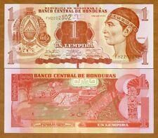Honduras, 1 Lempira, 2014, P-New, UNC >  Braille