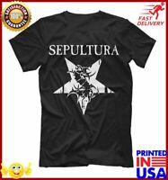 Sepultura Brazillian Metal  Grove Metal Music Promo Metal T Shirt, Men's Women's