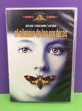EL SILENCIO DE LOS CORDEROS - DVD- USADO GARANTIZADO