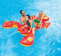 Intex Inflatable Float Ride-On Lobster Swimming  Pool Toy For Kids Rideable