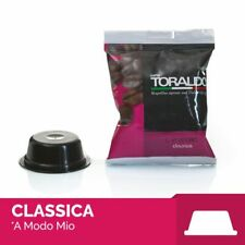 100 Capsule Caffè Toraldo Miscela Classica compatibili A Modo Mio Lavazza