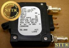 Lelk1-1Rec5-32148-20-V Airpax 20 Amp Dc Bullet Circuit Breaker