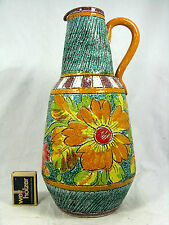 60´s ITALIAN DESIGN Pottery Jug VASO/Pitcher Brocca in ceramica vaso 29, 5 cm