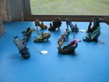 Lot of 10 Disney Once Upon A Slipper Bradford Exchange Ornaments Princess