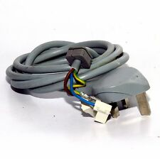 Logik L612WM15 Washing Machine Spare 240V UK Mains Lead Moulded Plug Terminated
