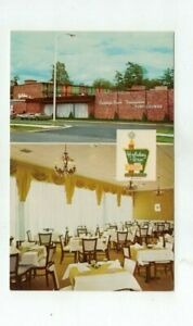 "NY Saratoga Springs New York vintage post card - ""Holiday Inn"""