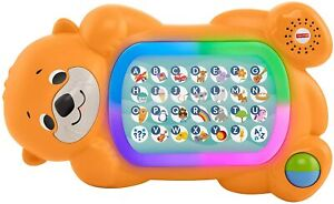 FISHER PRICE A TO Z OTTER 125+ SONGS, SOUNDS, TUNES & PHRASES 9M+ TEACH WORDS