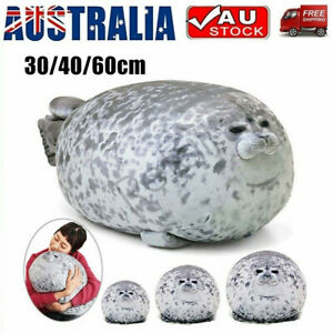 30/40/60CM Chubby Blob Seal Plush Doll Pillow Stuffed Cartoon Animal Gift Toy
