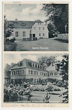 Gasthof und Erholungsheim Piskowitz bei Kamenz 1934, Landpost