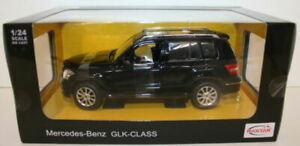Rastar 1/24 Scale Diecast 34000 - Mercedes Benz GLK Class - Black