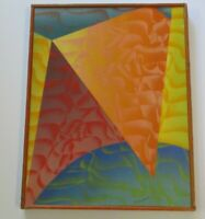 WILSON VINTAGE CUBIST NUDES ABSTRACT MODERNIST MODERNISM COLORFUL EXPRESSIONISM