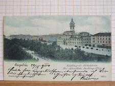 Farblitho - Szeged / Szegedin - Szechenyi Platz- gel 1900    m3