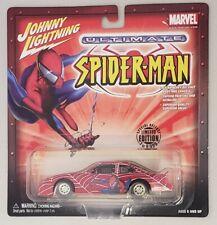 JOHNNY LIGHTNING ULTIMATE SPIDER-MAN 1998 PONTIAC GRAN PRIX STOCK CAR 1:43 SCALE