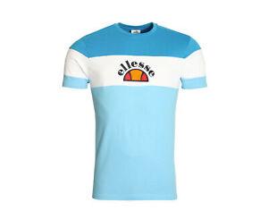 Ellesse Gubbio Light Blue/White Men's T-Shirt SHA04388-480