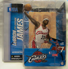 McFarlane Toys NBA Series 7 Lebron James Action Figure Cavaliers White Uniform