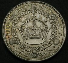 GREAT BRITAIN 1 Crown 1928 - Silver - George V. - XF/aUNC - 541
