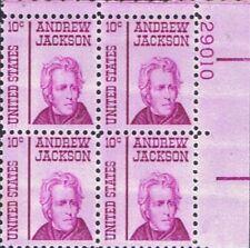 1 #1286 .10 Andrew Jackson Pb Of 4. Bin $1.25.