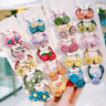 5Pcs Set Baby Girls Flower Hair Ring Tie Hair Band Scrunchie Ponytail Holder Acc