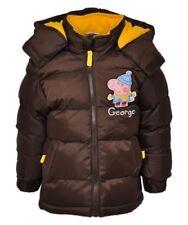 Manteaux, vestes et tenues de neige doudoune marron avec capuche pour garçon de 2 à 16 ans