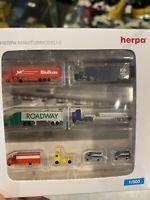 Herpa Wings 1:500 Flughafenzubehör XVI Trucks & Vans (Art.Nr. 520652) *rar*
