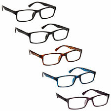 Reading Glasses 5 Packs Mens Womens UV Reader RRRRR92