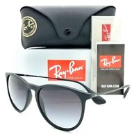 NEW Rayban Sunglasses Erika RB4171 622/8G 54 Black Grey Gradient AUTHENTIC 4171