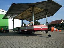 Pkw Anhänger Alu Verkaufsanhänger Marktanhänger riesig 4,7m Schnäpperchen 1500kg