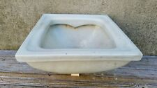 Vintage Porcelain Art Deco Bathroom Fixture Recess Floor Urinal Architectural