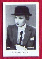 Marlene Dietrich 1931 Josetti Film Star Cigarette Card #556