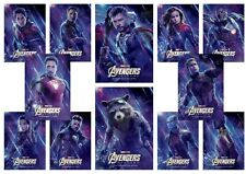Avengers Endgame  Black Widow  Hulk Thor  A5 A4 A3 Movie DVD Character Posters