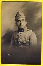 cpa Carte Photo Marcel IMBERT à TOURS en 1922 MILITAIRE SOLDAT du 8ème Régiment