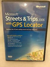 (Microsoft) Streets and Trips 2006 With GPS Locator