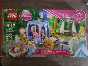 LEGO Cinderella's Dream Carriage 41053 Disney Princess new sealed box FREE SHIP