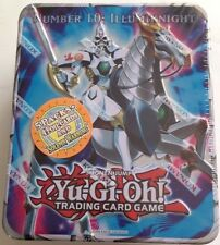 Yugioh 2011 Collectible Tin Number 10: Illumiknight Sealed Solemn Warning +Packs