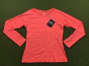 PUMA Women's Long Sleeve Sun Crew Top Ignite Pink SZ S ( 577901 09 )