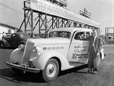 Packard 120 1936 Indianapolis 500 pace car Indy 500 automobile press photo photo