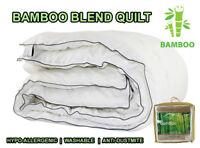 All Size Microfiber Microfibre Bamboo Winter Summer All Season Quilt Duvet Doona