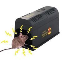 NEU Elektrische Elektronische Ratten Mause Falle Rattenfalle Mausefalle Killer
