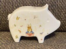 Royal Mint Beatrix Potter™ Minty® Piggy Bank Ltd Edition COA 54/500 Peter Rabbit